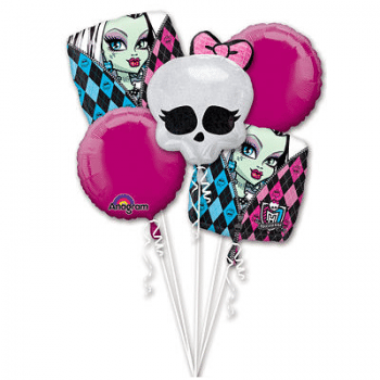 Monster High Balloon Bouquet