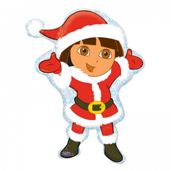 Dora the Explorer Santa Suit