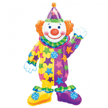 Juggles Clown Airwalker 44″