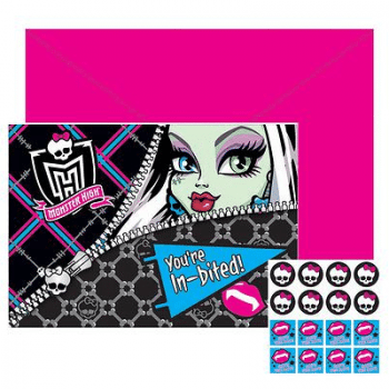Monster High Invitations
