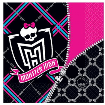 Monster High Napkins