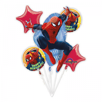 Ultimate Spiderman Balloon Bouquet