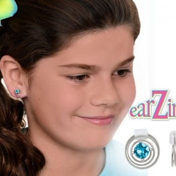 Panache- Blue Zircon Earzings