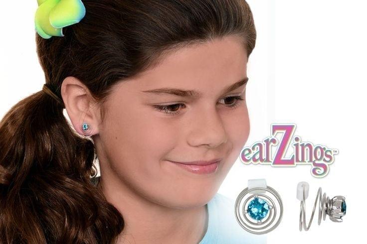 Panache- Blue Zircon Earzings