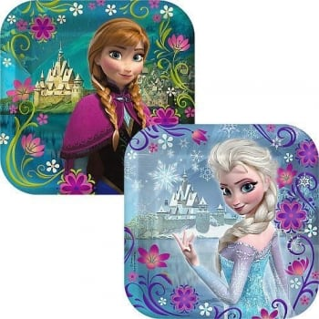 Frozen Dessert Party Plates