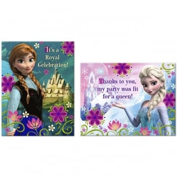 Frozen Invitations & Thank you Cards