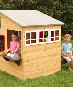Modern Outdoor Playhouse – FREE SHIPPING