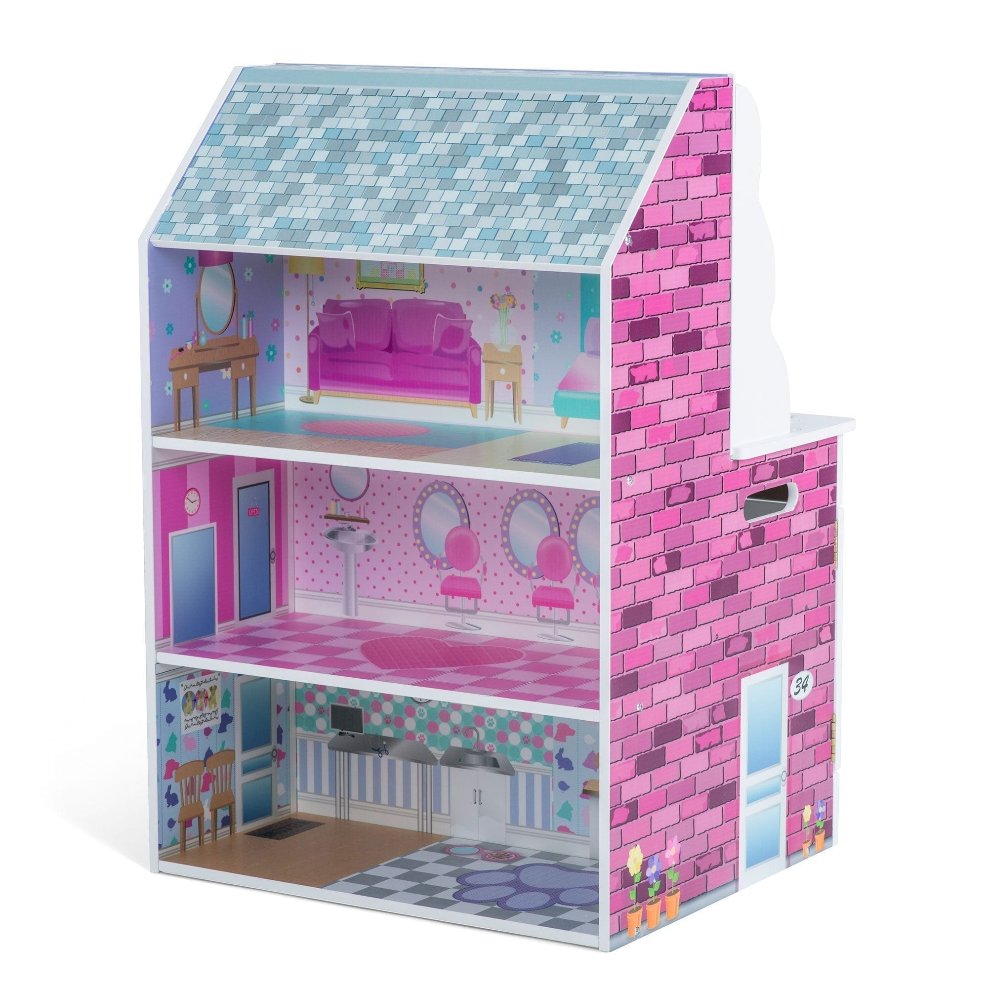 reflection of the doll house