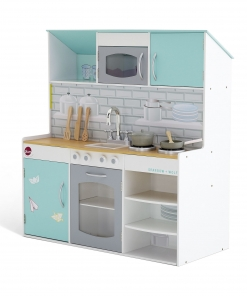Peppermint Townhouse 2 in 1 Kitchen and Dolls House