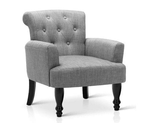 Winged Armchair French Provincial