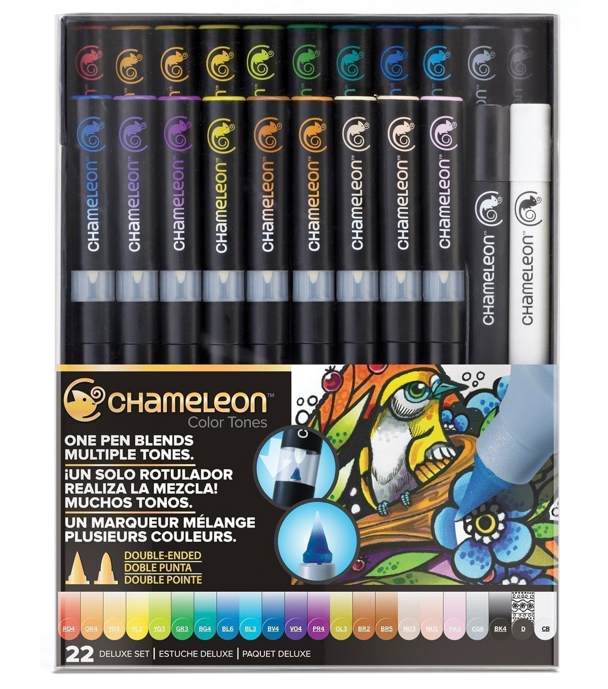 CHAMELEON COLOUR TONES 22 PEN SET