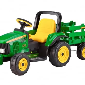 John Deere 12v Farm Power with Trailer