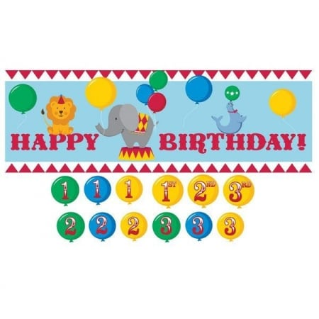Circus Giant Party Banner