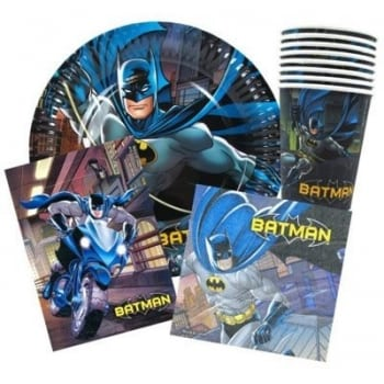 Batman Party Pack 40 Pieces
