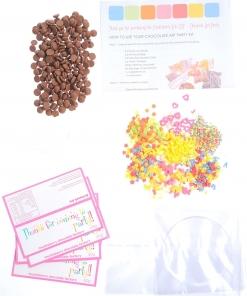 Gourmet Chocolate – DIY Chocolate Art Parties