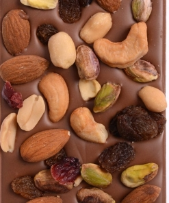 Chocolate Block – Fruit and Nuts