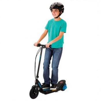 Razor Power Core E100 Electric 12v Scooter with Twist-grip Acceleration Control – Blue