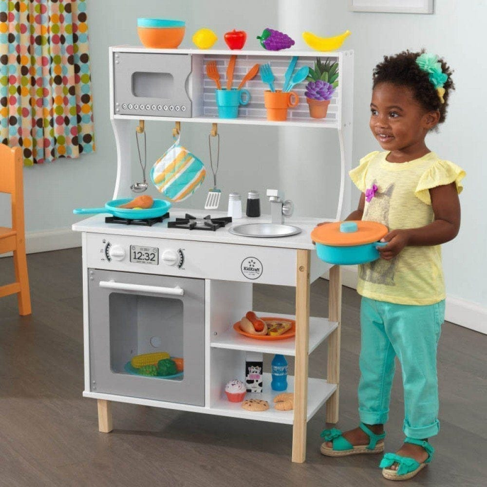 All Time Play Kitchen With Accessories