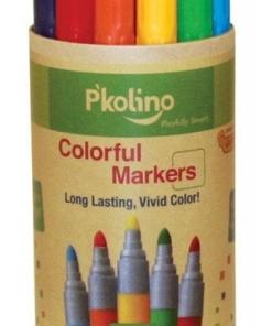 P'KOLINO COLORFUL MARKERS (12 COLORS)