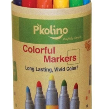 P'KOLINO COLORFUL MARKERS (12 COLORS)