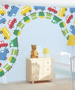 Nursery – Full Wall Mural