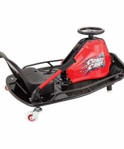 Razor Electric 24v Ride On Crazy Cart – Red