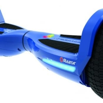 Razor Hovertrax 1.5 Electric Ride On Self Balancing Hoverboard – Blue