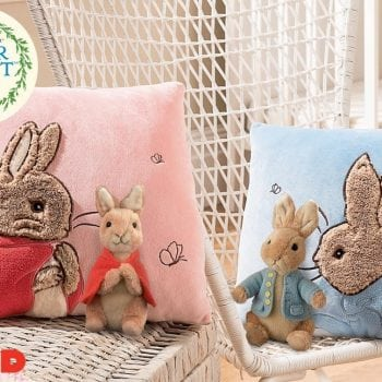 Peter Rabbit or Flopsy Cushions