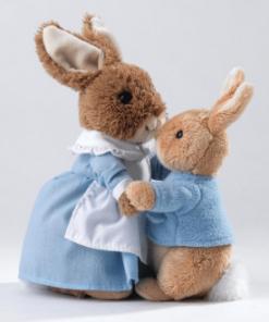 Peter Rabbit & Mrs Rabbit
