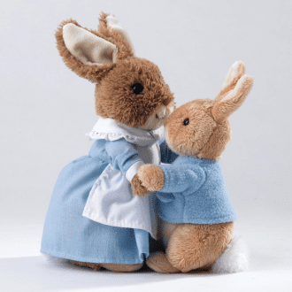 Peter Rabbit & Mrs Rabbit