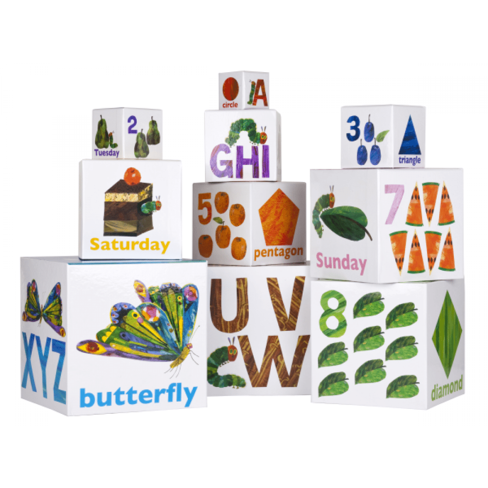 VERY HUNGRY CATERPILLAR Building Blocks