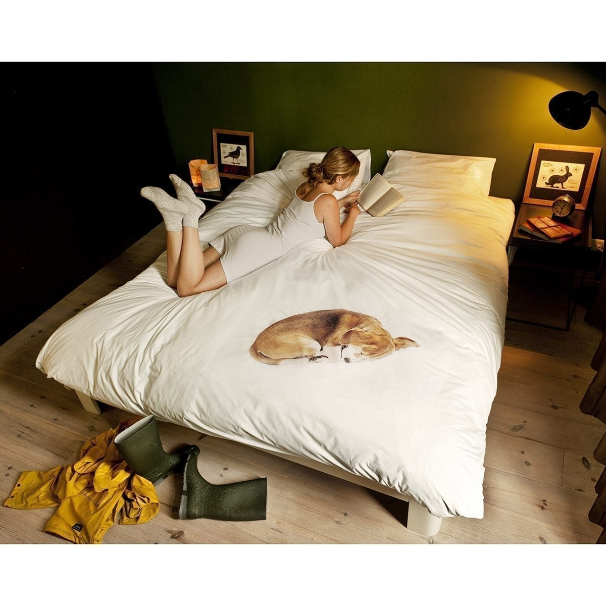 Bob the Dog Quilt Cover Set