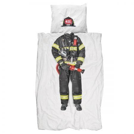 Firefighter Quilt Cover Set
