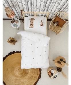 Furry Friends Quilt Cover Set
