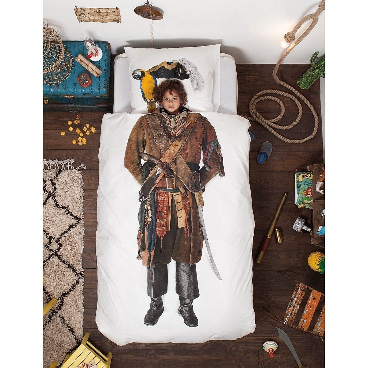 Pirate Quilt Cover Set