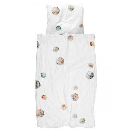 Pom Pom Quilt Cover Set