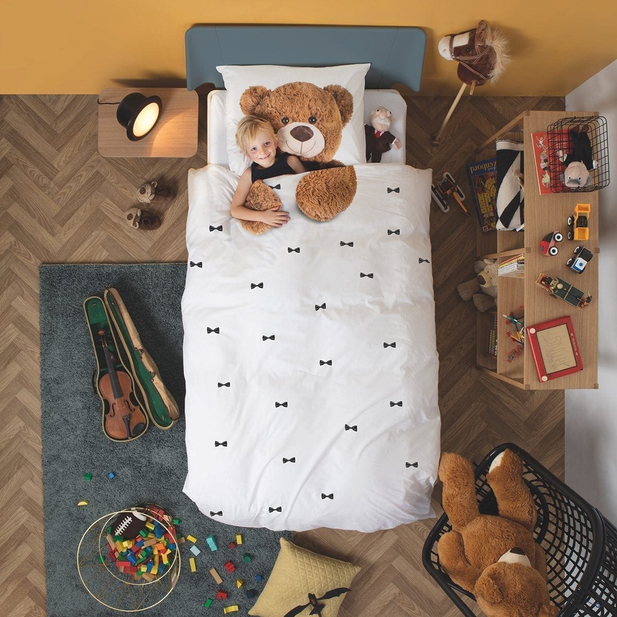 Teddy Quilt Cover Set