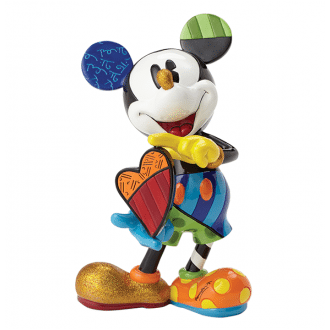 Mickey Holding Spinning Heart – Large Figurine