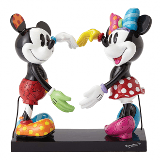 Mickey and Minnie Heart – Large Figurine