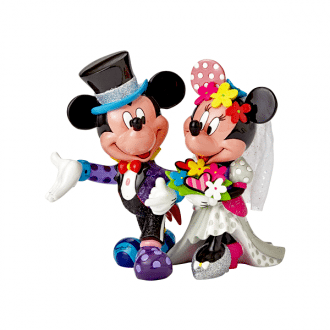 Mickey & Minnie Wedding – Large Figurine