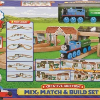 Thomas & Friends Wooden Thomas Mix Match & Build Set
