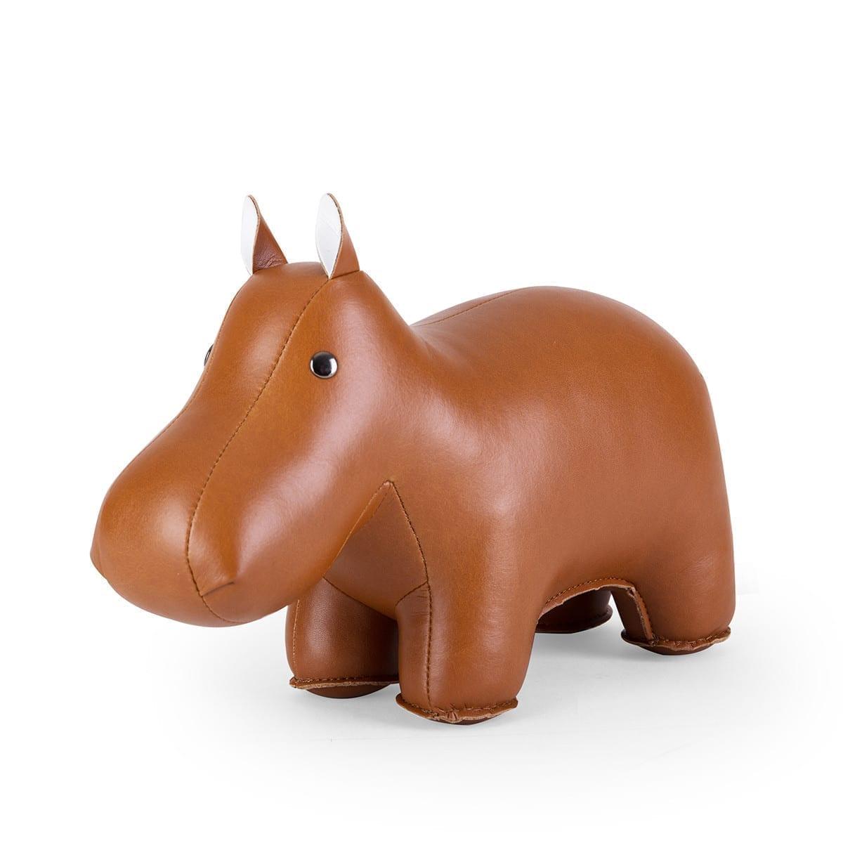 Bookend Classic Hippo Tan