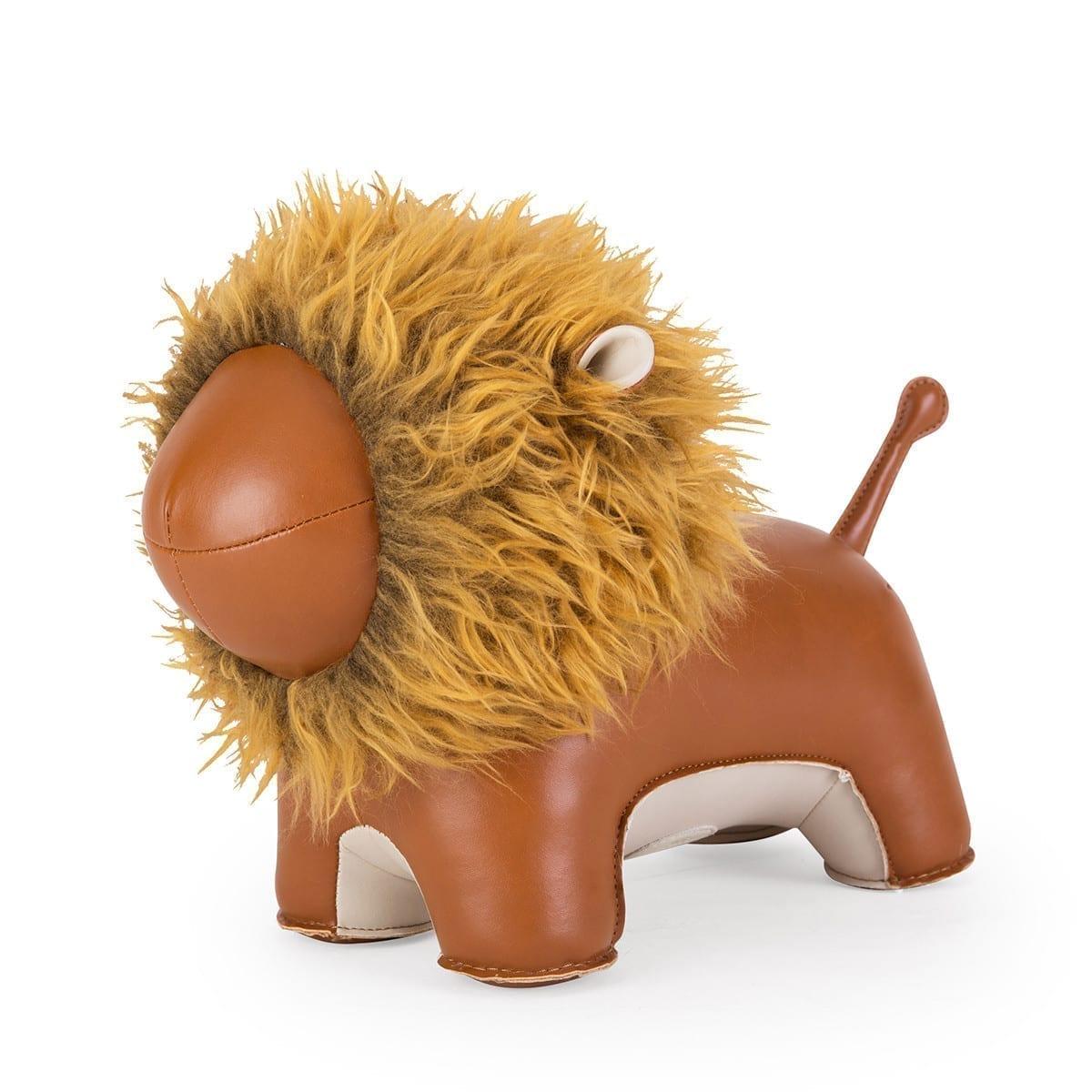 Doorstop Lion Tan