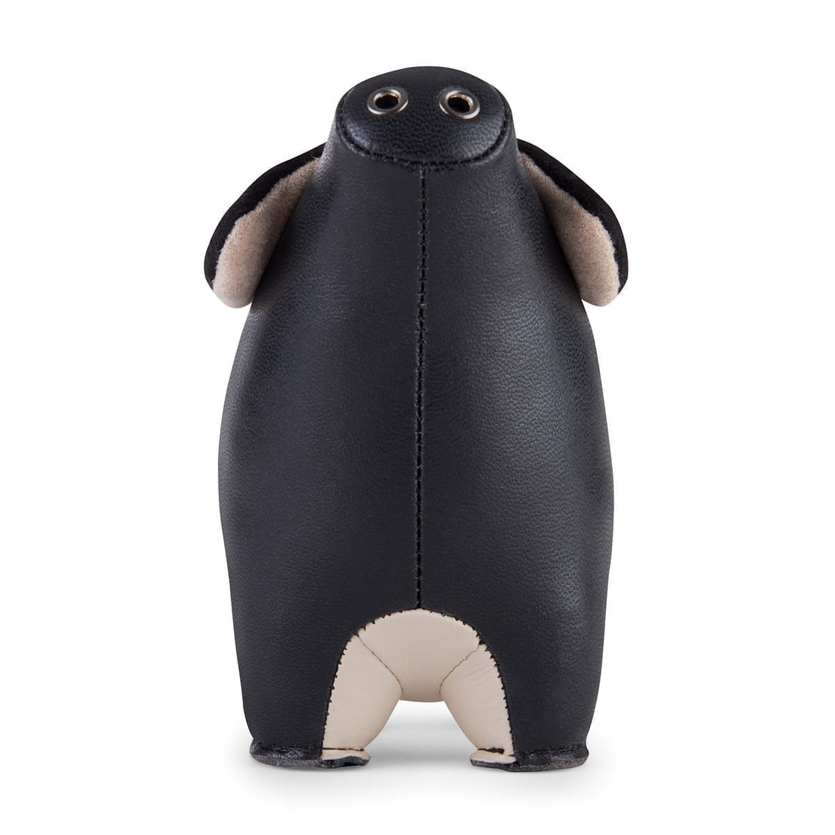 Paperweight Pig Black